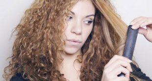 روش اتو کشیدن مو فشن