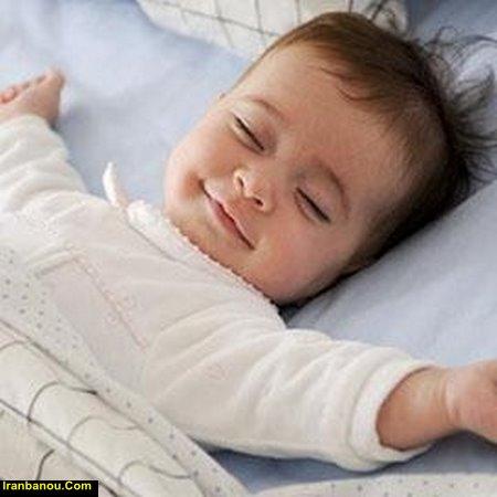خواب نوزاد 4 ماهه
