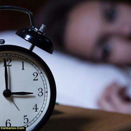 بی خوابی شبانه نشانه چیست