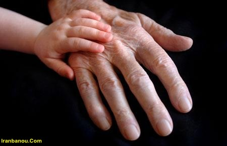 جلوگیری از پیری پوست دست