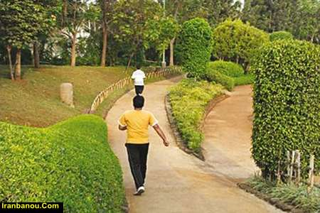 ورزش پیاده روی برای لاغری