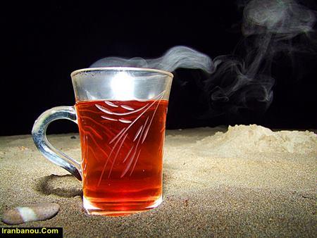 چای سیاه گرم است یا سرد