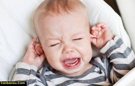 از کجا بفهمیم نوزاد گوش درد دارد