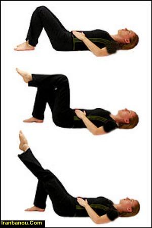 ورزش کمر درد سیاتیک