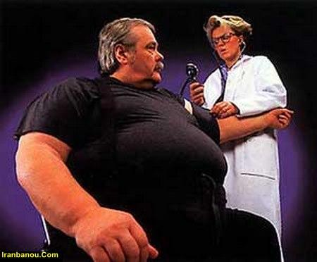 عوارض چاقی شکمی