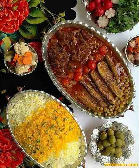 تزیین غذا