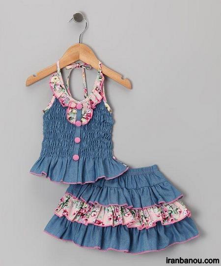 مدل لباس دخترانه شش ساله