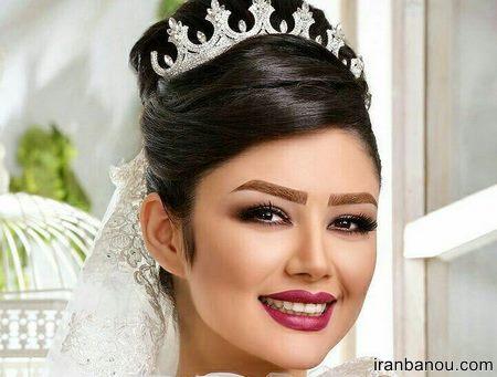 مدل عروس ملکه ای