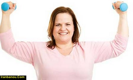 ورزش در خانه برای کاهش وزن