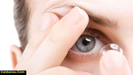 قیمت لنز چشم رنگی