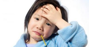 درجه تب در کودکان