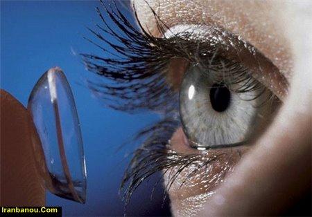 نگهداری از لنز چشم بدون محلول آن