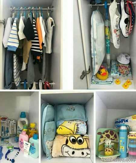 ایده هایی برای تزیین سیسمونی نوزاد
