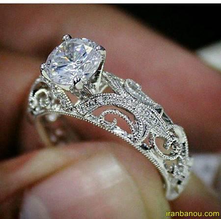 عکس حلقه ازدواج در دست
