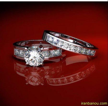زیباترین ست حلقه های عروس و داماد
