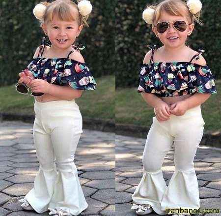 مدل لباس بچه گانه دخترانه جدید و شیک 98