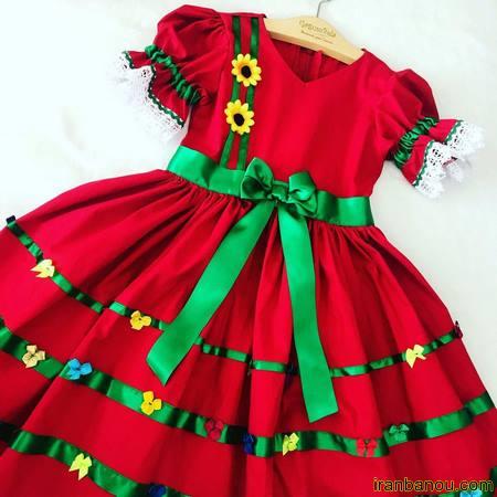 لباس دخترانه 10 ساله
