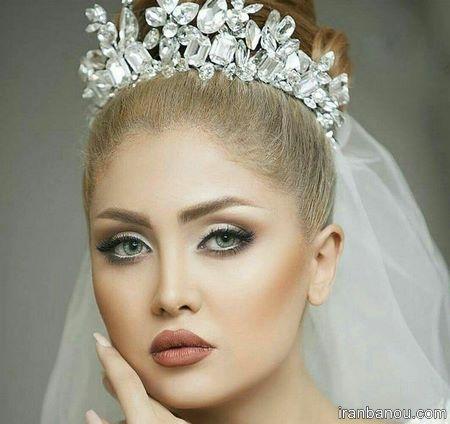 تاج ریسه ای عروس