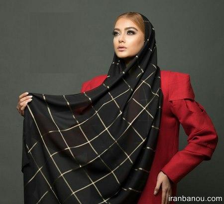 مدل شال مجلسی مشکی