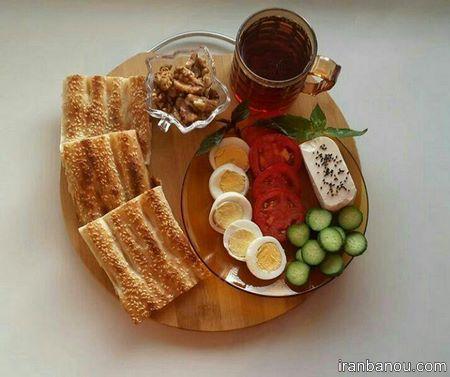 تزیین صبحانه مدرسه