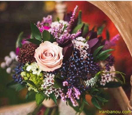 دسته گل عروس لیلیوم