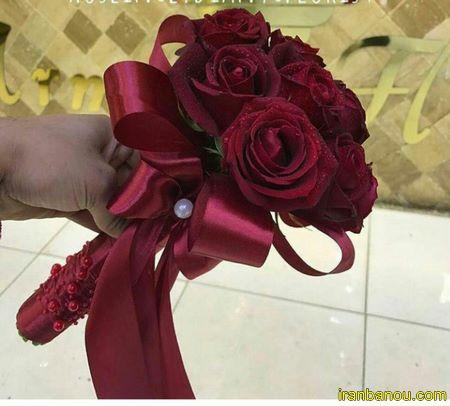دسته گل ساده عروس