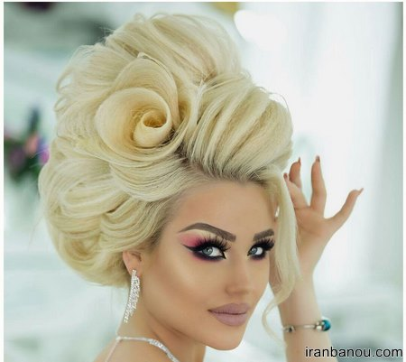 ارایش خاص و متفاوت عروس ایرانی