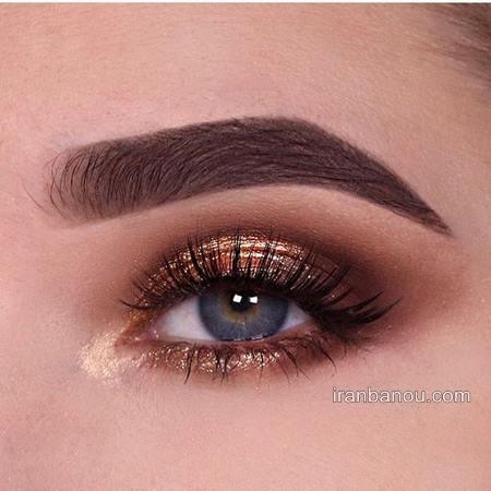 زیباترین حالت های آرایش چشم و مدل آرایش چشم مجلسی