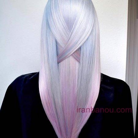 رنگ مو فانتزی جدید