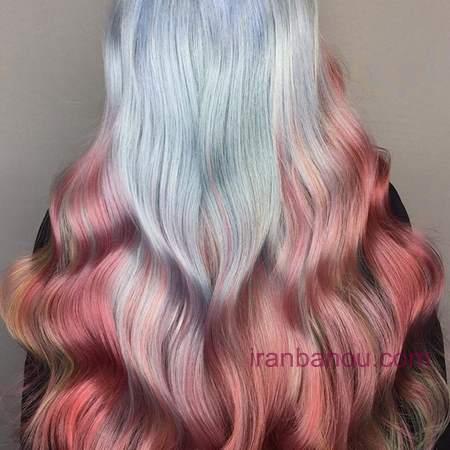 رنگ مو فانتزی خاص