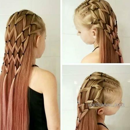 مدل موی کوتاه دخترانه ساده