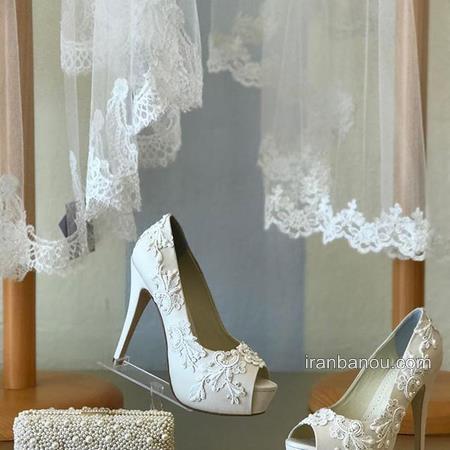 مدل کفش عروس خفن