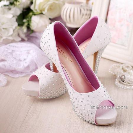کفش عروس با طرح های بی نظیر