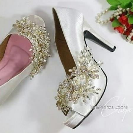 تصاویری از کفش عروس