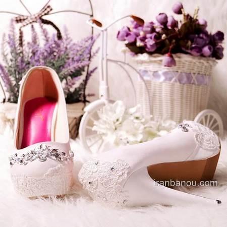 عکس هایی از مدل کفش عروس