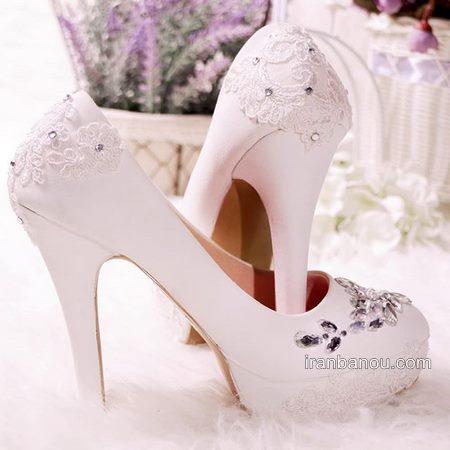 لاکچری ترین مدل کفش عروس امروز