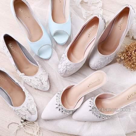 طرح های جدید از مدل کفش عروس
