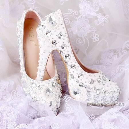 زیبا ترین مدل کفش عروس خاص