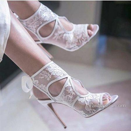 مدل کفش عروس زیبا و خاص