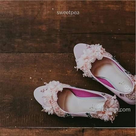 متفاوت ترین کفش عروس امروزی خاص