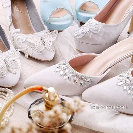 خاص ترین کفش عروس با طرح های متفاوت و بی نظیر
