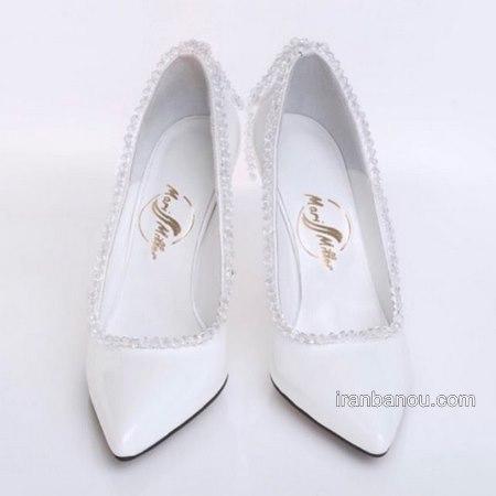 کفش پاشنه دار مناسب برای عروسی