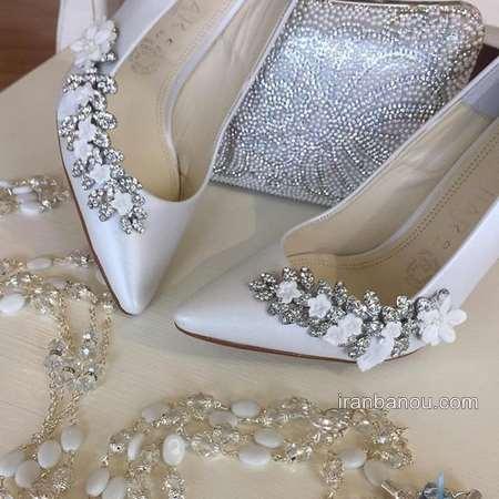 کفش عروس لژدار جدید