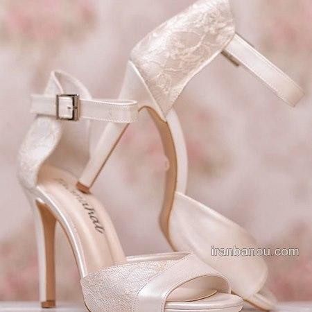 کفش پاشنه بلند عروسی جذاب