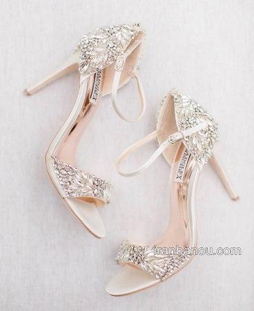 مدل های کفش عروس سفید بسیار شیک