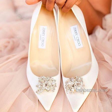 گالری عکس خاص ترین مدل کفش عروس