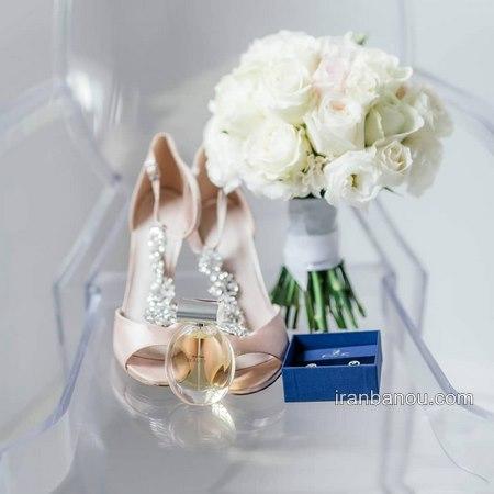 انواع متنوع مدل کفش عروس جدید