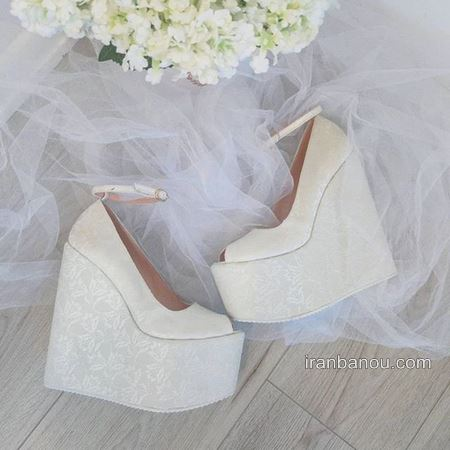 کفش عروس خاص و جدید