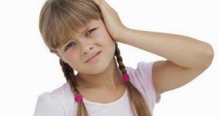 گوش درد کودک دوماهه