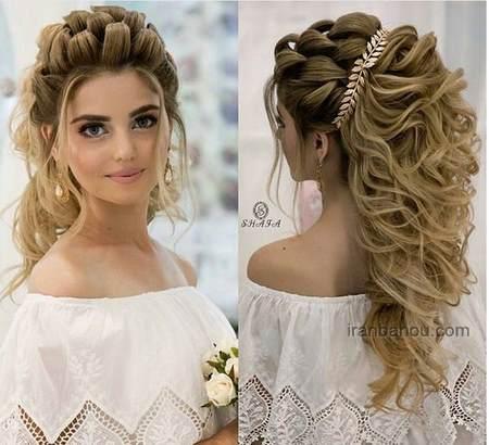 مدل مو برای جشن عروسی